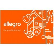 Kod podarunkowy Allegro o wartości 100 PLN