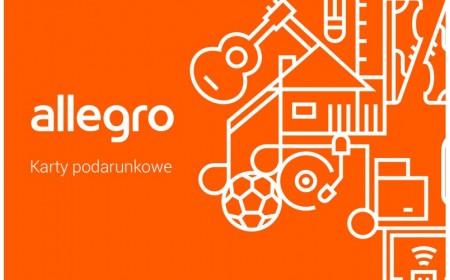 Kod podarunkowy Allegro o wartości 50 PLN