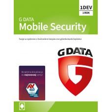 Oprogramowanie antywirusowe G Data Mobile Internet Security - 1 urządzenie / 1 rok