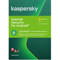 Oprogramowanie antywirusowe Kaspersky Internet Security for Android - 1 urządzenie / 1 rok