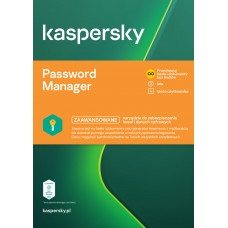 Oprogramowanie Kaspersky Cloud Password Manager - 1 użytkownik / 2 lata