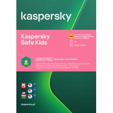 Oprogramowanie antywirusowe Kaspersky Safe Kids - 1 użytkownik / 1 rok