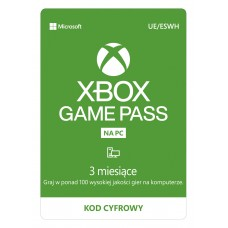 Subskrypcja Xbox Game Pass PC (3 m-ce)