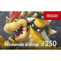 Kod aktywacyjny Nintendo eShop 250 PLN