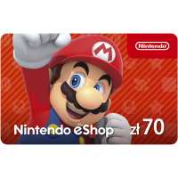 Kod aktywacyjny Nintendo eShop 70 PLN