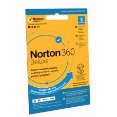 Oprogramowanie antywirusowe Norton 360 Deluxe - 3 urządzenia / 12 miesięcy