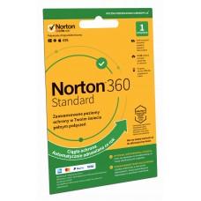 Oprogramowanie antywirusowe Norton 360 Standard - 1 urządzenie / 12 miesięcy