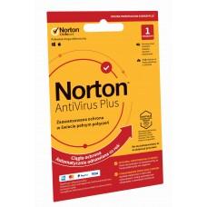 Oprogramowanie antywirusowe Norton AntiVirus Plus - 1 urządzenie / 12 miesięcy