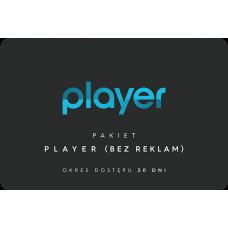 PLAYER (bez reklam) - 30 dni