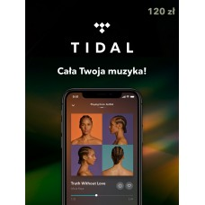 TIDAL Doładowanie 120 zł