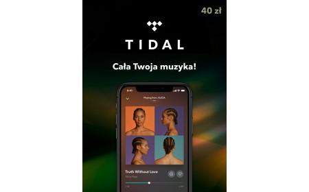 TIDAL Doładowanie 40 zł