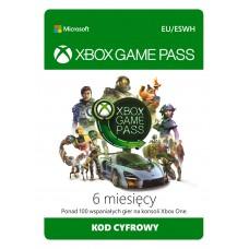 Subskrypcja Xbox Game Pass (6 miesięcy)
