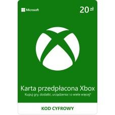 Karta przedpłacona Xbox 20 PLN