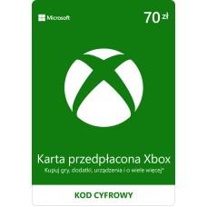 Karta przedpłacona Xbox 70 PLN
