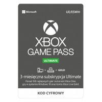 Subskrypcja Xbox Game Pass Ultimate (3 miesiące)